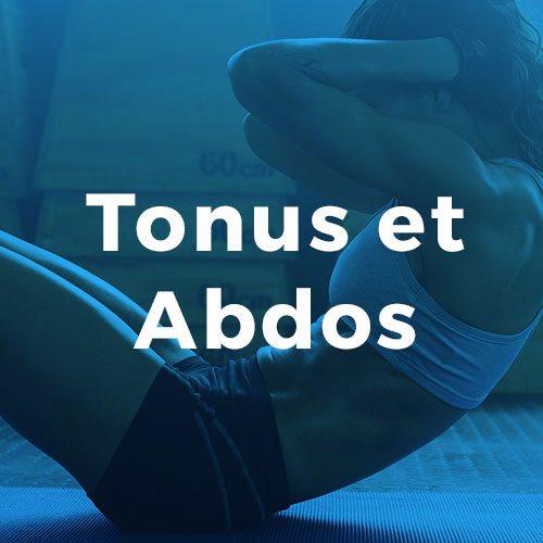 Tonus et abdos Conditionnement physique avec Espace Fitness