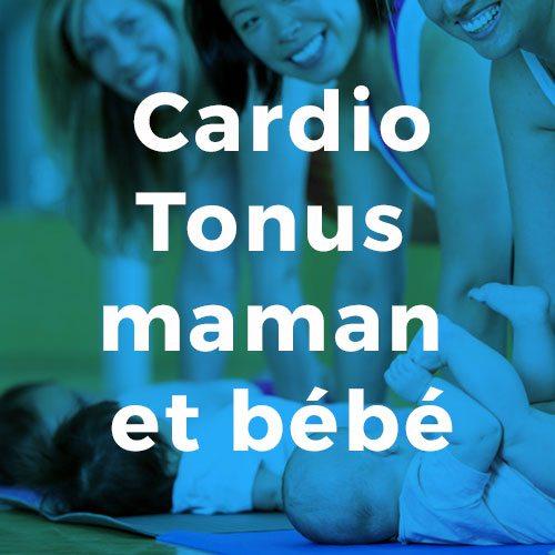 Cardio Tonus maman et bébé Conditionnement physique avec Espace Fitness