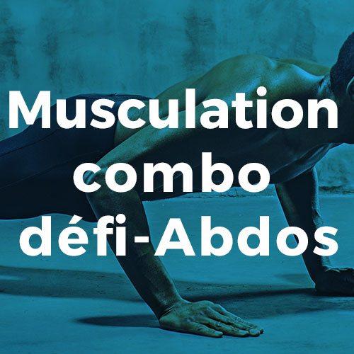 Musculation combo défi-abdos Conditionnement physique avec Espace Fitness