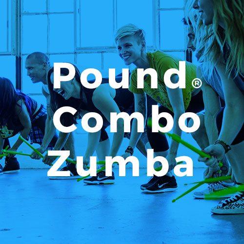 Pound Combo Zumba Espace Fitness