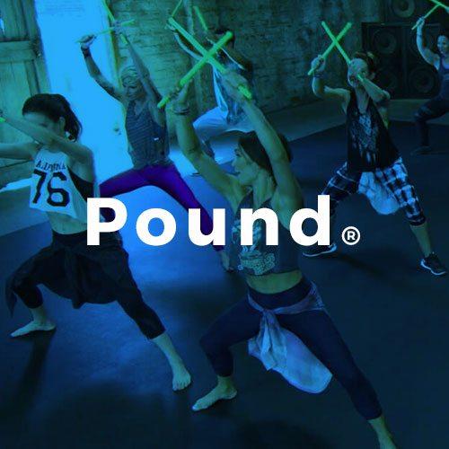 Pound Conditionnement physique avec Espace Fitness
