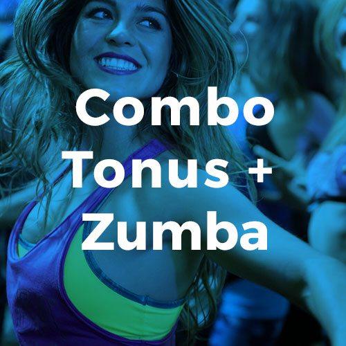 Combo Tonus Zumba Conditionnement physique avec Espace Fitness