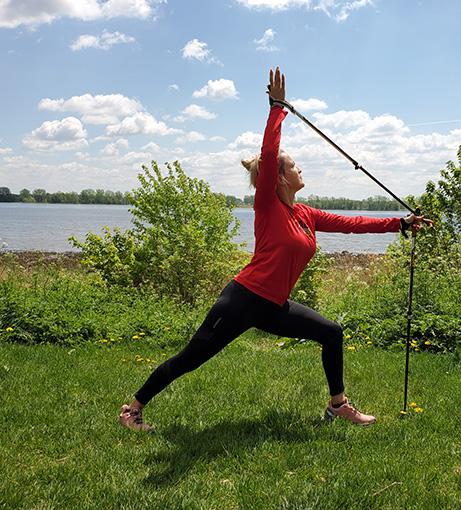 Marche nordique Intervalles-Yoga